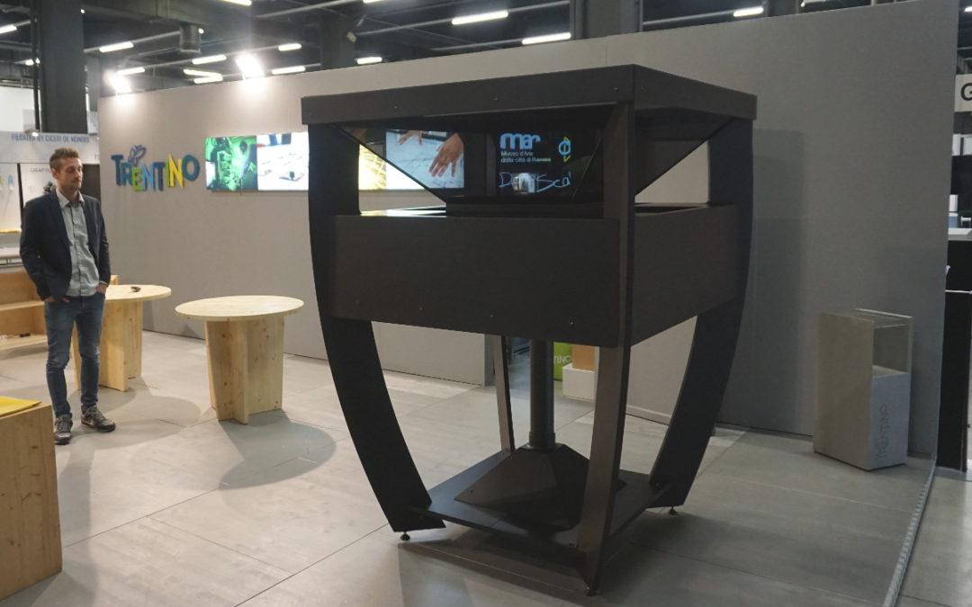 OC Lab realizza il proiettore olografico di Trentino Sviluppo