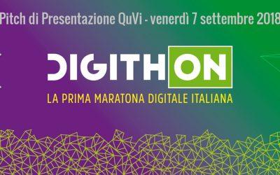 Il proiettore olografico QuVi finalista di Digithon 2018