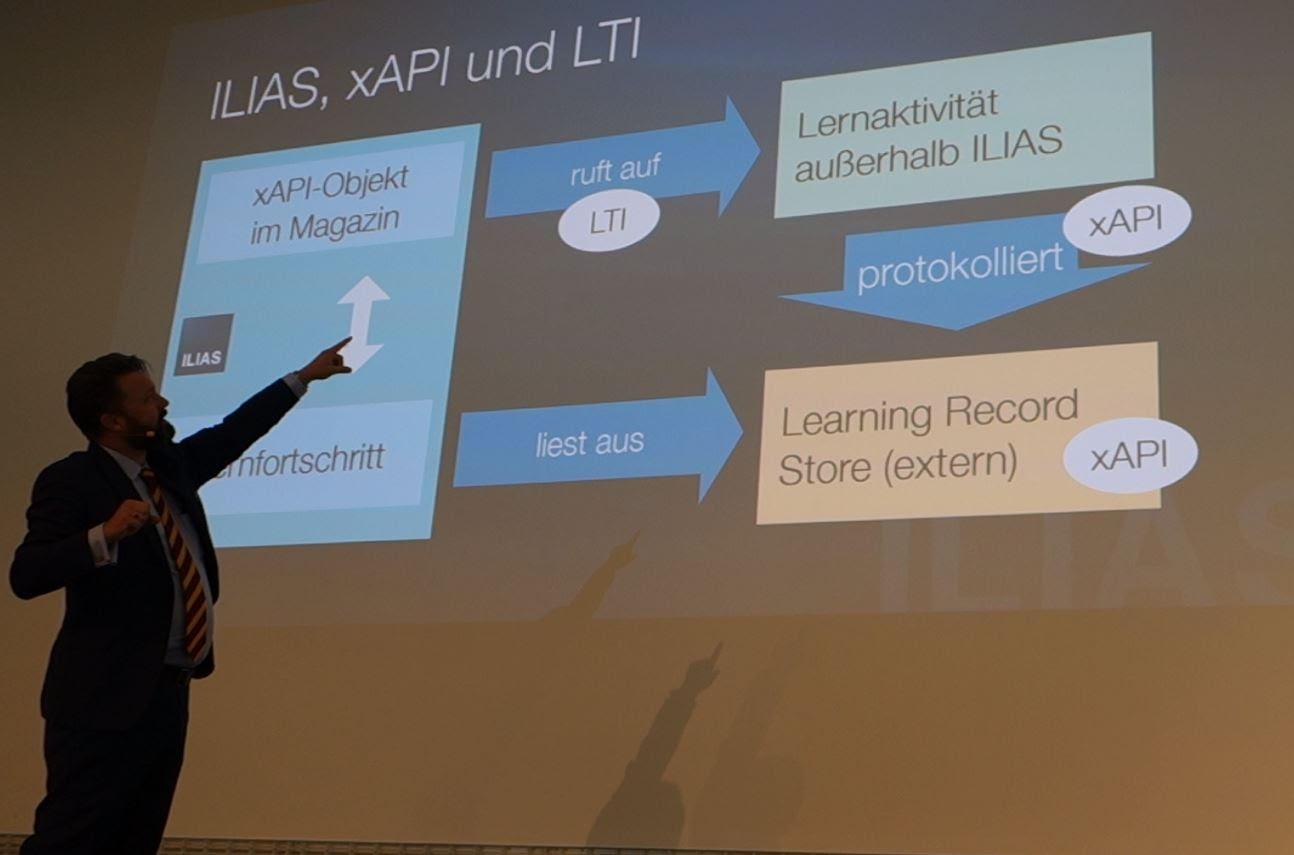 Matthias Kunkel presenta ILIAS 6
